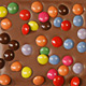 Colorful Chocolate Drages