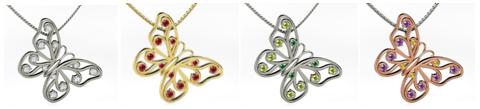 Customized pendants from Gemvara