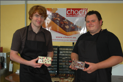 Franz and Micha from chocri