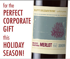 Corporate Gift Idea Personal Wine