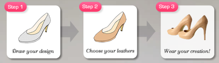 Design your own shoes with Shoes of Prey